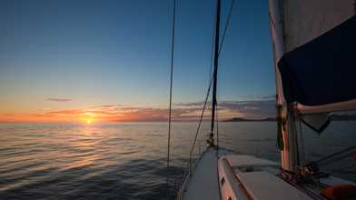 Sunset Luxury Sailing