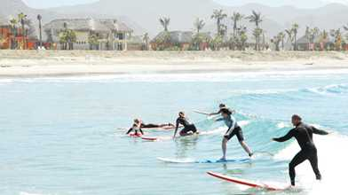 Surf Lessons in Cerritos