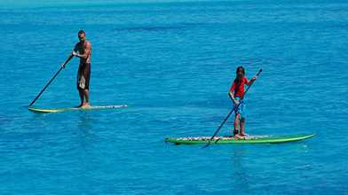 Stand Up Paddle Board & Snorkel at the Arch