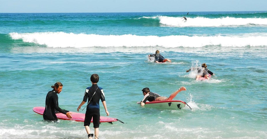 Surf Lessons in Costa Azul