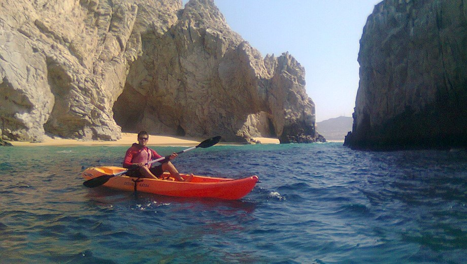 Glass Bottom Kayak and Snorkel at the Arch